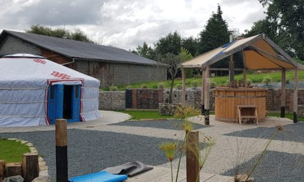 Together at last – a holiday home with a difference