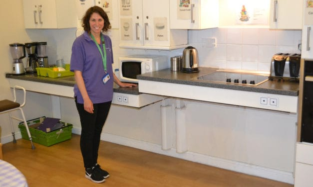 The benefits of the training kitchen in rehabilitation