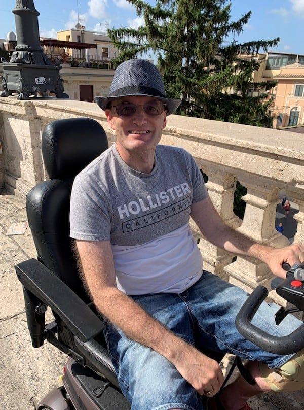 Darren Buckey, motor neurone disease patient