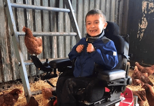 Precision Rehab provides George with the powerchair of his dreams