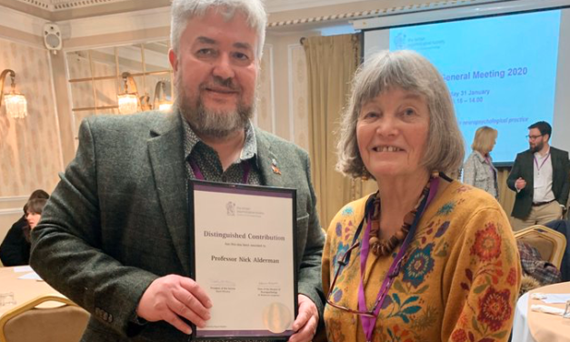 Rehab leader wins prestigious award