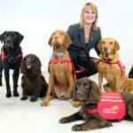 Dogs do their bit to beat the virus