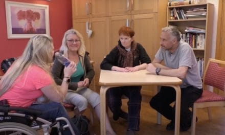 One charity's challenging move to online group sessions